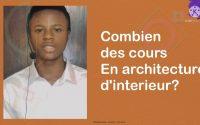 Quels sont les cours à apprendre dans la profession d'architecture d'interieur #exoblackarchiblack