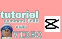 TUTORIEL DE COMMENT J'ÉDIT mais vidéo ROBLOX !! Alina Playyz