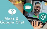 Tutoriel 2 : Google Chat et Meet