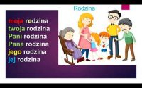 # 19/F - Deuxième Leçon Polonaise : LA FAMILLE
