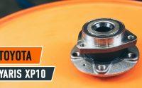 Changer roulement roues arrière TOYOTA YARIS XP10 TUTORIEL | AUTODOC