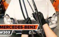 Comment remplacer des essuie-glaces sur MERCEDES-BENZ W203 C-Class [TUTORIEL AUTODOC]