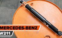 Comment remplacer un amortisseur arrière sur MERCEDES-BENZ W211 Classe E [TUTORIEL AUTODOC]