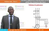 IP-EN SCHEMA AUTO ELECT 3 LEÇON 4 FREINAGE A MANQUE ET A APPEL DE COURANT DES M.A.T