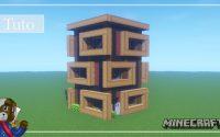 Minecraft   Comment Construire un Immeuble Moderne   Tutoriel