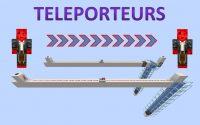 Téléporteur (deux modèles) 🛠 Minecraft Java 1.17 🛠 Tutoriel