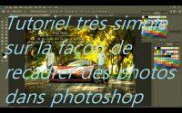 Tutoriel très simple sur la façon de recadrer des photos dans photoshop