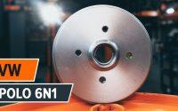Comment remplacer un tambour de frein arrière sur VW POLO 6n1 [TUTORIEL AUTODOC]