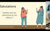Leçon 1 : salutations et adieux