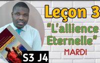 Leçon 3 - Le Livre de l'alliance - Leçon de l'école du sabbat 2021(MARDI)
