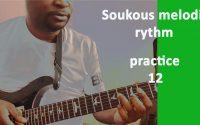 Soukous Tutoriel: rythmique mélodique exercice #12